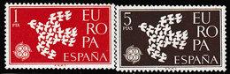 Spanje 1961  - Michel  1266/1267**- POSTFRIS - NEUF SANS CHARNIERES - MNH - POSTFRISCH - Catw. 0,8€ - 1961-70 Neufs