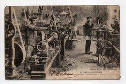 - CPA LE CHAMBON-FEUGEROLLES (42) - Un Atelier Travaillant Pour La Guerre (belle Animation) - Edition Darves-Blanc - - Le Chambon Feugerolles