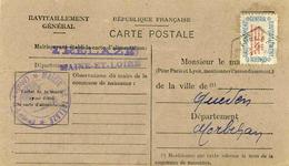 Carte De Ravitaillement, Mairie De TRELAZE (Maine Et Loire) - Cachet  Agence Postale Rurale à Date Du ?? 1946 - Marcophilie (Lettres)