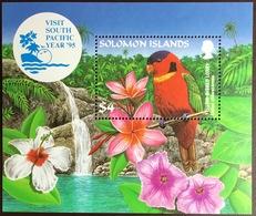 Solomon Islands 1995 Visit South Pacific Birds Minisheet MNH - Vögel