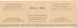 Studienabschnitt 1954-1955 - Historische Dokumente