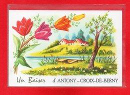 92-CPSM ANTONY - CROIX DE BERNY - LOT DE 5 CARTES POSTALES - Antony