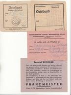 4 Diverse Belege Um 1930 Siehe Scan - Historische Dokumente