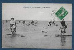 MONTMARTIN SUR MER - La Pêche Au Rateau - Montmartin Sur Mer