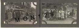 L'O.E.P A LIEGE BELGIQUE 1948 - CARNET DE 11 PHOTOS DIM 9x6,5 Cms-PHOTO R.LOUKIANOFF PORNIC (autocars-tramway-voiture) - Lieux