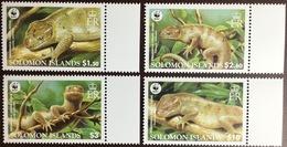 Solomon Islands 2002 WWF Grey Cuscus MNH - Reptiles & Batraciens