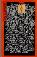 TELECARTE 50 UNITES  ASPIRINE OBERLIN - France