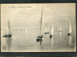CPA - BREST - La Rade Un Jour De Régates - Brest
