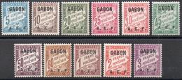 Gabon - Taxe N° 1 à 11 Neufs * - SUPERBE - Impuestos