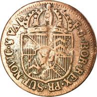 Monnaie, SWISS CANTONS, NEUCHATEL, 1/2 Batzen, 1793, Neuenburg, TB+, Billon - Suisse