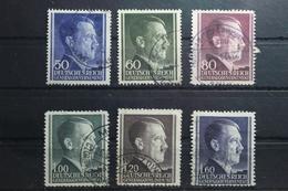 Generalgouvernement 83-88 Gestempelt #TP415 - Besetzungen 1938-45