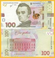 Ukraine 100 Hryven P-126 2019 UNC Banknote - Ucraina