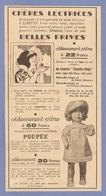 COUPURE De PRESSE 1953 - PUBLICITÉ CANEVAS BLANCHE NEIGE & Les 7 NAINS Le PRINCE CHARMANT - POUPÉE LAQUÉE CHEVEUX TIBET - Dolls