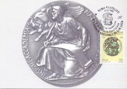 ACCADEMIA NAZIONALE DI SAN LUCA  FDC   1993 MAXIMUM POST CARD (GENN200113) - Esposizioni Filateliche