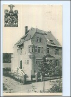 Y14941/ Halle A. S. Borussia-Haus Studentika AK 1927 - Germania