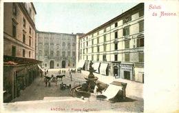ITALIE   ANCONA  Piazza Garibaldi - Ancona