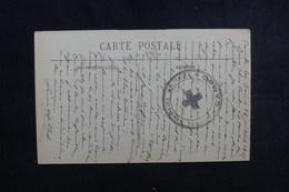 """FRANCE - Cachet """" Hôpital Sanitaire Militaire - Cambo  """" Sur CP En 1917 - L 50719 - Guerre De 1914-18"""