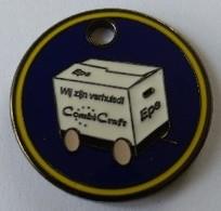Jeton De Caddie - Combi Craft - EPE - Pays-Bas - En Métal - Neuf - - Trolley Token/Shopping Trolley Chip
