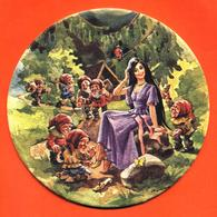 Sous Bock - Coaster Illustré Blanche Neige Et Les Sept Nains - Sotto-boccale
