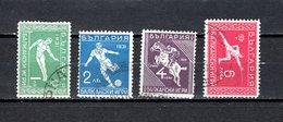 Bulgaria   1933  .-  Y&T  Nº   231/234 - 1909-45 Royaume