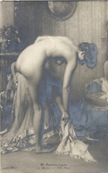 CPA Nue D. Enjolras Le Matin - Nus Adultes (< 1960)