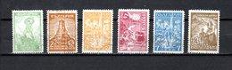 Bulgaria   1935  .-  Y&T  Nº   244/249 - 1909-45 Royaume