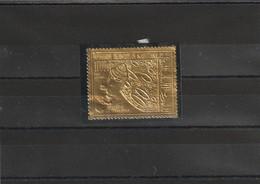 Mauritanie Avion N° 93 Neuf ** - Timbre En Or (gold) - Cote (Y&T 2008) : 25,50€ - Mauretanien (1960-...)