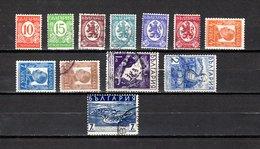 Bulgaria   1936-38  .-  Y&T  Nº   278/286-287/289 - Oblitérés