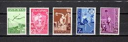 Bulgaria   1939  .-  Y&T  Nº   335/339 - Oblitérés
