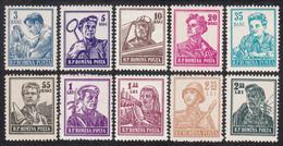 ROMANIA  Michel  1500/09 ** MNH - 1948-.... Repúblicas