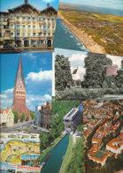 4.613 Gramm (netto) Ansichtskarten Aus Deutschland (Lot121) - 500 Karten Min.