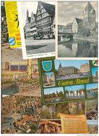 4.501 Gramm (netto) Ansichtskarten Aus Deutschland (Lot53) - 500 Karten Min.