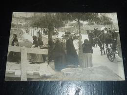 CARTE PHOTO DE LA CONSTRUCTION DE L'EGLISE DU SACRE-COEUR à MENTON - 06 ALPES MARITIMES (AG) - Menton
