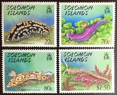 Solomon Islands 1989 Nudibranchs Marine Life MNH - Marine Life