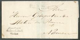 Letter From 'S GRAVENHAGUE + Hs Department Binnelandsche Zaken To NAMEN (NAMUR). OD012 - Pays-Bas