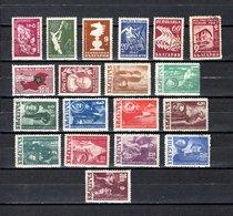 Bulgaria   1947  .-  Y&T  Nº   539/543-545-547/548-550/560 - Oblitérés