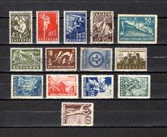 Bulgaria   1947-48  .-  Y&T  Nº   561/564-565-566/569-570-571/574 - Oblitérés
