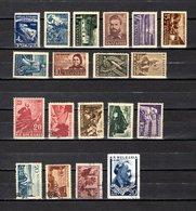Bulgaria   1948-49  .-  Y&T  Nº   599-600-601/607-608/609-610/615-616/617 - Oblitérés
