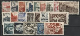 1947 ANNEE COMPLETE ** (MNH). Cote 35 €. N° 772 à 792 Soit 21 Timbres. TB. - 1940-1949