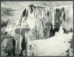 07 Ardèche Lot De 2 Photos Chomerac Grotte De Tourange Spéléologue Années 60 - Sonstige Gemeinden