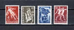 Bulgaria   1949  .-  Y&T  Nº   617E/617M - Oblitérés