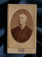 Photo CDV  Gustave Au Mans  Portrait Homme (Papa Guyot 53 Ans 1881) - L481C - Photos