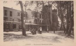 B20-66) CERET - BOULEVARD DU MARECHAL JOFFRE - (ANIMEE - CAFE DE FRANCE - 2 SCANS) - Ceret