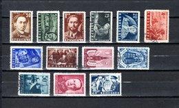Bulgaria   1950  .-  Y&T  Nº   641/43-648/49-654/55-661/64-665/66 - Oblitérés