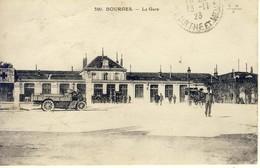 05028 - CPA BOURGES.  La Gare. - Bourges