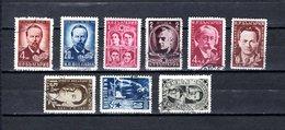 Bulgaria   1951  .-  Y&T  Nº   667/668-669/675 - Oblitérés