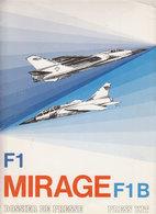Aviation  Mirage F1 - Publicités