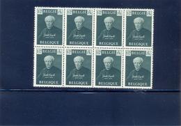 Nr. 813 In Blok Van 8 MNH  Postgaaf ** Prachtig - Belgien