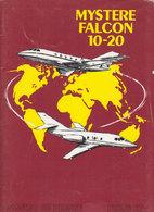 Aviation  Mystere Falcon 10-20 - Publicités