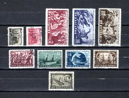 Bulgaria   1952  .-  Y&T  Nº   721/722-723/724-726-727/731 - Oblitérés